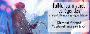 20 mars: Folklore, mythes et légendes : un regard différent sur les régions de France